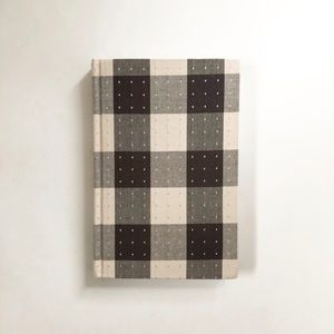 "Kate Spade Plaid Hardcover Journal 6""x9"""